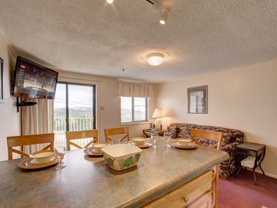 Photo for Mountain Lodge 1st Fl Perfect location,Slopeside, Lake view Now booking 2020