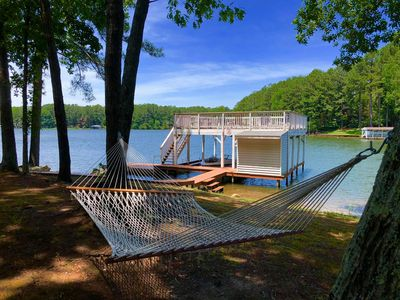 Waterside Hammock, Great for Napping, Reading Books and Watching Nature!