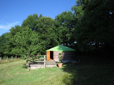 Photo for Yurt B & B on magnificent property