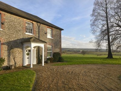 Photo for Beautiful Georgian Farm House in the Heart of the South Downs