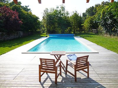 Photo for 7 bedroom Villa, sleeps 15 in Thorigné-d'Anjou with Pool and WiFi