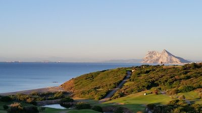 Photo for New front line beach/Golf with views of Gibraltar and Africa.