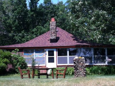 Photo for Charming 2-Bedroom Cabin with boathouse on Big Carnelian Lake in Stillwater