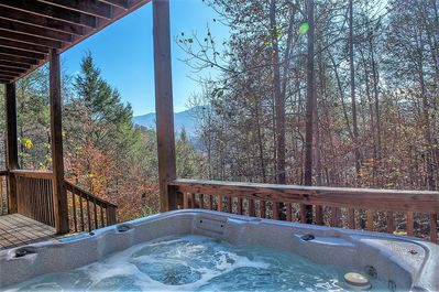 Hot Tub Off Gameroom w/ Mountain View