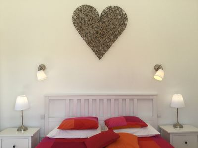Photo for Private room with big double bed, ensuite bath, free wifi and heated pool access