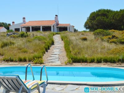 Photo for Fabulous seaview villa with private pool - South of Lisbon - Casa da Noni