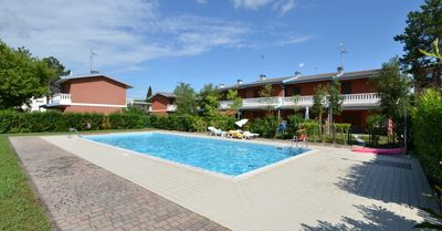 Photo for Holiday apartment in holiday village with pool