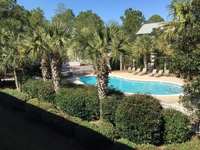 Photo for Pool View! Steps to Private Beach Access, Pools, Lake, Trails, Discounted Bikes!