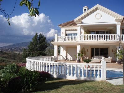 Photo for White Lodge - VFT/MA/05610 - Golf front Villa With Private Pool and Amazing View