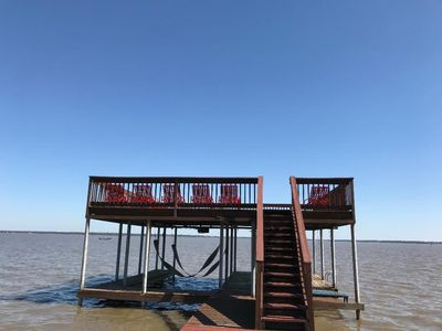 Photo for 8/2-6 still open!! 500 feet of LAKE FRONT!! Fire pit,ping pong,air hockey!