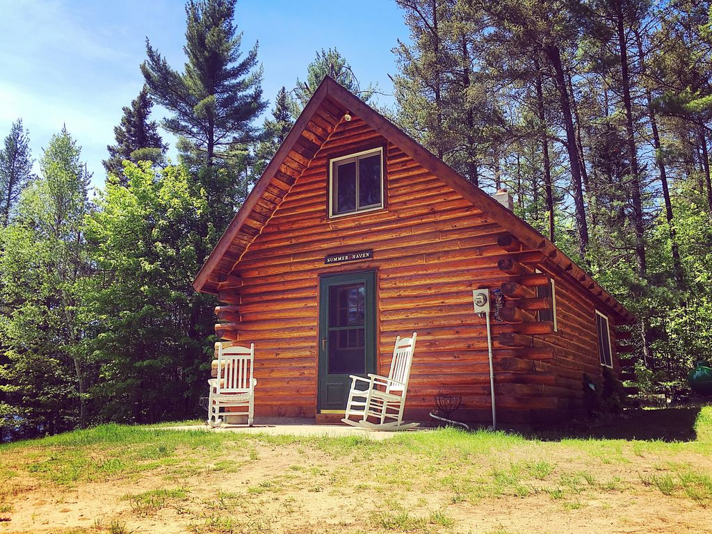 Log Cabin Rental! Quiet, Peaceful lakefront with great ...