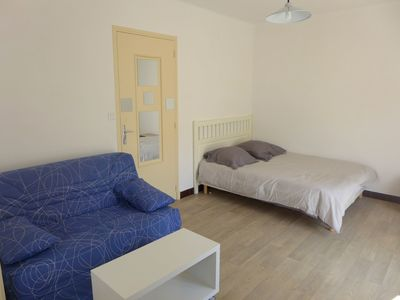 Photo for Lovely apartment with A/C, WIFI, TV, balcony, washing machine and parking
