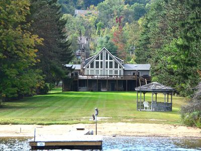 Photo for Arcadia- 5 bedroom lakefront/ ski area home near Wisp Resort
