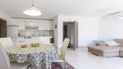 Photo for Apartment Veronika 1 with sea view, modern, very well equipped, close to the beach and the town center