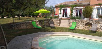 Photo for Charming cottage with private terrace and pool
