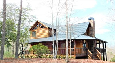 Photo for NEW LISTING, newly renovated 3 bedroom cabin in the Blue Ridge mountains.
