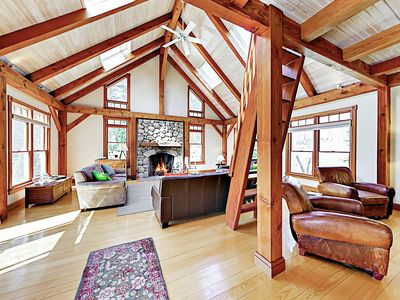 Photo for Contemporary Home w/ Private Hot Tub, Deck, Game Room & Shared Dock Access