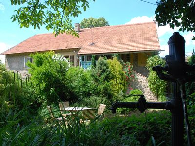 Photo for Stylish renovated village farmhouse near Prague and close to a recreational lake