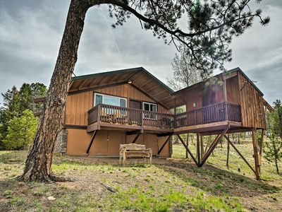 Photo for Florissant Cabin w/ Bunkhouse, New Deck & Views!