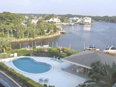 Photo for Gulf waterfront community. 2/2 Condo, pool & tennis