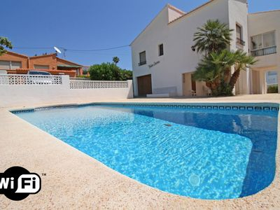 Photo for 3 bedroom Villa, sleeps 7 in Ifac with Pool, Air Con and WiFi