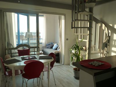 Photo for Beautiful apartment overlooking the harbor Herbaudière 4 people