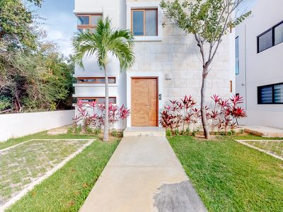 Photo for Secluded home w/ a shared pool, hot tub, garden, & terrace in a great location