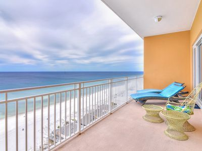Photo for Waterfront condo with large balcony and oceanfront views!