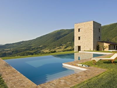 Photo for Stunning Medieval Tower Luxury Renovated in Antognolla and Murlo Castle Estates