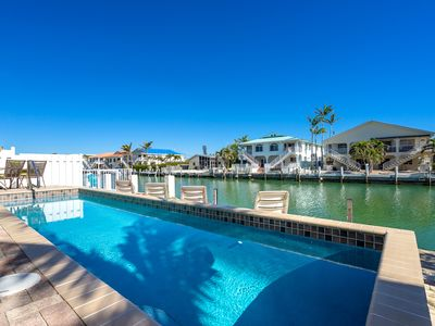 Photo for SALE 10/3-11/20 $1197WK  WATERFRONT 46' DOCK, POOL, WALK TO CABANA BEACH CLUB