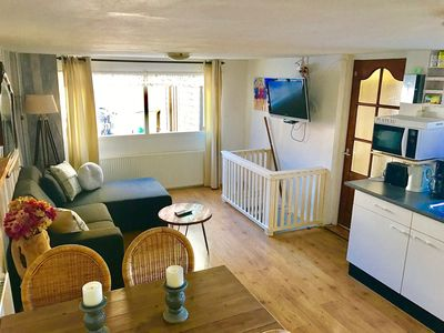 Photo for The apartment is located just a 2-minute walk from the beach