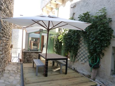 Photo for Provencal house near vaison la romaine