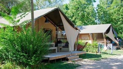 Photo for Luxe Sanitary 6 Pers. 4-Star family campsite Coin Tranquille in the French Alp