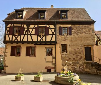 Photo for Gîte LA CHAPELAINIE in the heart of the picturesque village of Turckheim