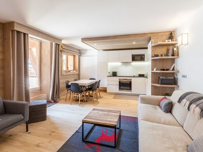 Photo for Apartment with 2 bedrooms in the heart of Meribel
