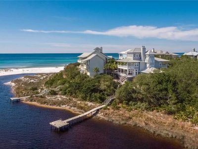 Photo for Wasted Time - Private Beachfront Community, Lake Front w/ Dock, Gulf Views, Community Pool!