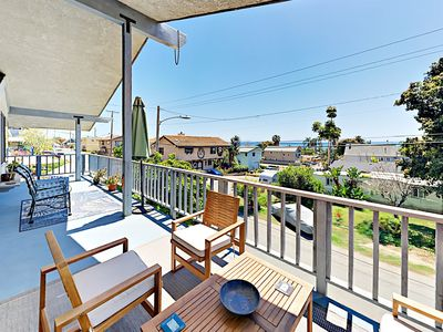 Photo for 3BR w/ Wraparound Balcony/Garden & Cigar Lounge - Steps to La Conchita Beach