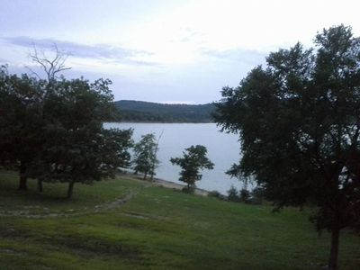 Photo for Luxury Lakefront Condo, 5 min to Silver Dollar City, 2 min to rent any water toy