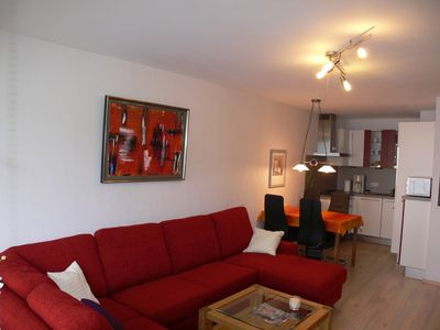Photo for Modern apartment with swimming pool, sauna and Wifi in the health resort Obermais Elste