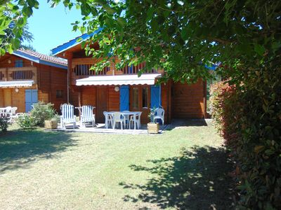Photo for CHALET CLIMATISE 4/6 PEOPLE NEAR MIMIZAN WITH WIFI