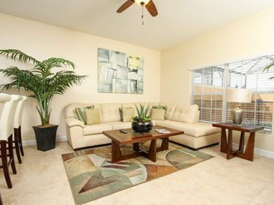 Photo for At Last You can Rent the Perfect Luxury Townhome on Paradise Palms Resort minutes from Disney World, Orlando House 1201
