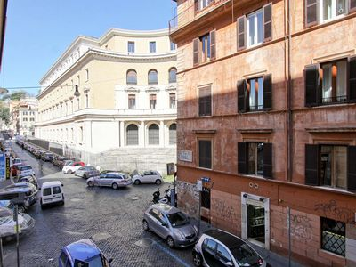 Photo for Comfortable apartment in the heart of Trastevere great for visiting the city