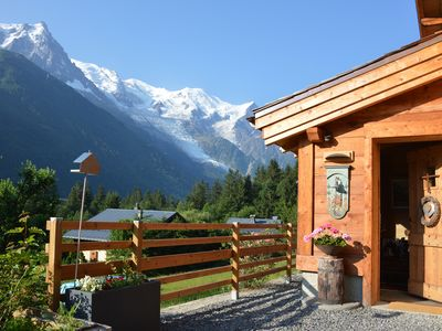 "Photo for 5-star chalet ""Le Grand E"" 120 m2. Exceptional view"