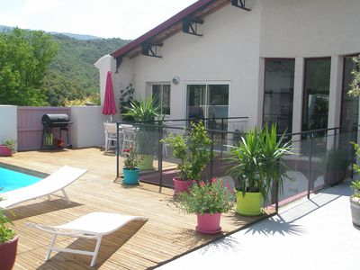 Photo for beautiful converted winery in superb village location