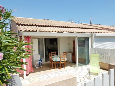 Photo for 2-rooms- mezzanine house for 5 people - LES AYGUADES