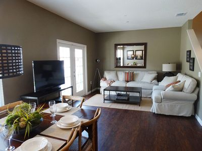 Photo for Enjoy Orlando With Us - Lucaya Village - Welcome To Cozy 4 Beds 3 Baths Townhome - 3 Miles To Disney