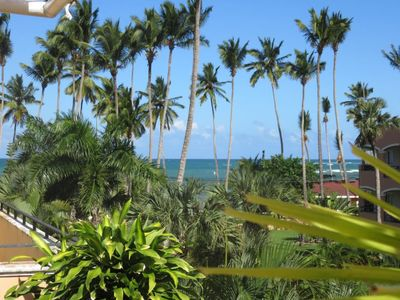 Photo for Penthouse Cocotier 2 - Terrace with sea view - 2 Bedrooms A/C - 2 Bathrooms - Pools