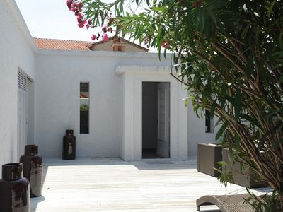 Photo for Calm, Renovated Villa in St.Tropez, Five-Minute Walk to Port and Place des Lices