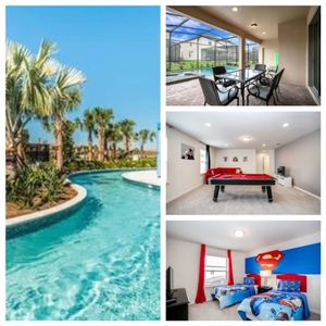 Photo for New House with Private Screened Pool, Spa and Pool Table! Close to Disney. Windsor at Westgate-8808 C
