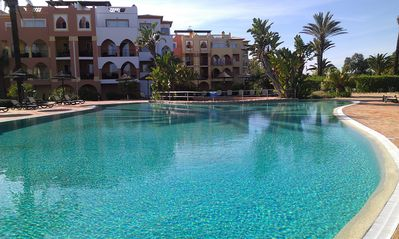 Photo for Luxury 3 bed apartment in secure resort